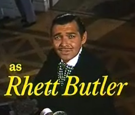Cary Grant as Rhett Butler