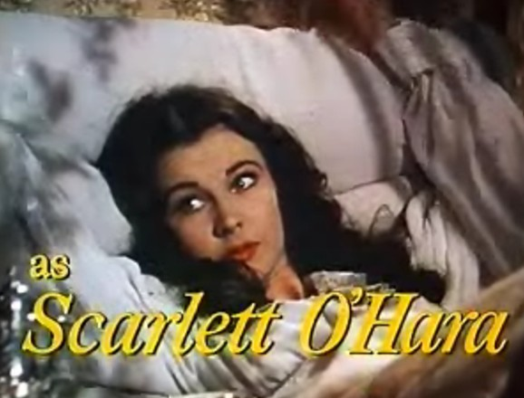 Vivien Leigh as Scarlet O'Hara